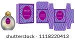 packaging design  label on... | Shutterstock .eps vector #1118220413