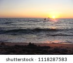 seascape. beautiful seascape at ... | Shutterstock . vector #1118287583