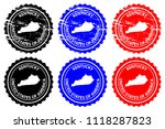 kentucky   rubber stamp  ... | Shutterstock .eps vector #1118287823