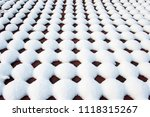 snow scenery and rime in the... | Shutterstock . vector #1118315267