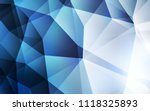 light blue vector polygonal... | Shutterstock .eps vector #1118325893