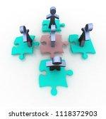 conceptual leadership concept | Shutterstock . vector #1118372903