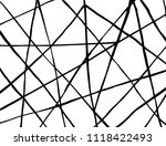 line pattern. brush. vector.... | Shutterstock .eps vector #1118422493