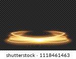 light effect line gold vector...   Shutterstock .eps vector #1118461463