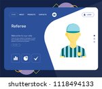 quality one page referee... | Shutterstock .eps vector #1118494133