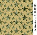creative wallpaper with stars | Shutterstock .eps vector #111852593