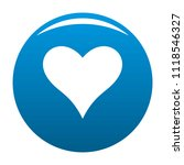 affectionate heart icon. simple ... | Shutterstock . vector #1118546327