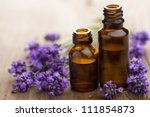 Essential Oil And Lavender...