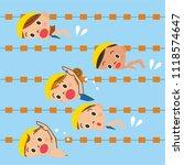 children swimming in the pool | Shutterstock . vector #1118574647