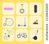 active city transport eco... | Shutterstock .eps vector #1118642603