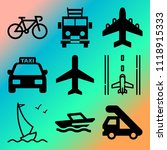 vector icon set  about... | Shutterstock .eps vector #1118915333