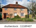 traditional brick built semi...   Shutterstock . vector #11189407