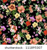seamless pattern,tropical flowers,floral pattern,chic vectors,sweater print pattern