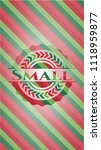 small christmas colors style... | Shutterstock .eps vector #1118959877