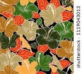 floral background. seamless...   Shutterstock .eps vector #1119043013