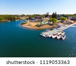 sacramento state aquatic center | Shutterstock . vector #1119053363