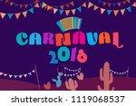 popular event in brazil....   Shutterstock .eps vector #1119068537