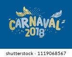 popular event in brazil....   Shutterstock .eps vector #1119068567