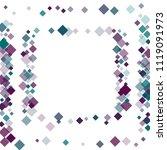 rhombus background minimal... | Shutterstock .eps vector #1119091973
