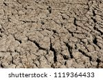 cracked earth background... | Shutterstock . vector #1119364433