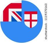 circular flag of fiji   Shutterstock .eps vector #1119370163