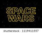 space wars   modern military...   Shutterstock .eps vector #1119411557