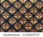 Thai Fabric Pattern