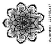 mandalas for coloring  book....   Shutterstock .eps vector #1119451667