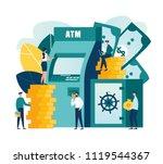 vector flat illustration ...   Shutterstock .eps vector #1119544367