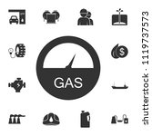 automotive fuel ratio icon....