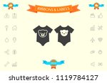 baby rompers icon | Shutterstock .eps vector #1119784127
