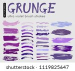 vector illustration paint brush ... | Shutterstock .eps vector #1119825647