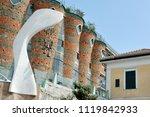vietri sul mare  italy   april... | Shutterstock . vector #1119842933