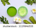 natural herbal soothing gel... | Shutterstock . vector #1119846533