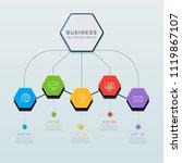 presentation business...   Shutterstock .eps vector #1119867107