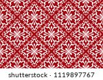 floral pattern. vintage... | Shutterstock .eps vector #1119897767