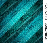 leather patchwork background ... | Shutterstock . vector #1119920993