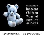 international day of innocent... | Shutterstock . vector #1119970487