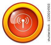 wifi sign   satellite tv or... | Shutterstock .eps vector #1120014503