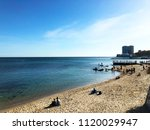 beach holidays | Shutterstock . vector #1120029947