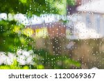 drops of cleaning fluid on...   Shutterstock . vector #1120069367