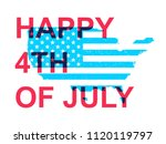 happy fourth of july....   Shutterstock .eps vector #1120119797