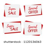 banners for sale  special... | Shutterstock . vector #1120136063