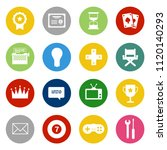 casino icons set   vector... | Shutterstock .eps vector #1120140293