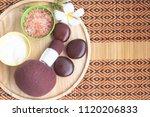 spa treatment equipments... | Shutterstock . vector #1120206833