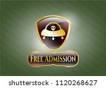 golden emblem or badge with... | Shutterstock .eps vector #1120268627
