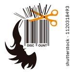 hairdresser price cutting... | Shutterstock .eps vector #1120318493