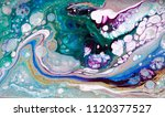 marble abstract acrylic... | Shutterstock . vector #1120377527