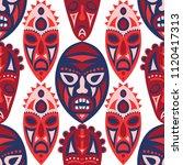 seamless pattern. abstract... | Shutterstock .eps vector #1120417313