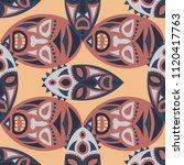 seamless background. african... | Shutterstock .eps vector #1120417763